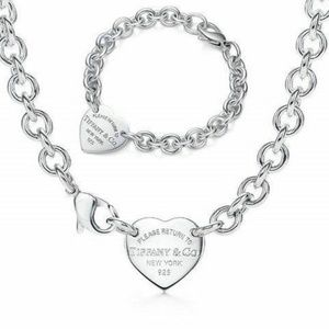 Jewelry - Return to Tiffany & Co Heart Tag Charm Set